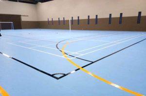 lg leisure lantai badminton