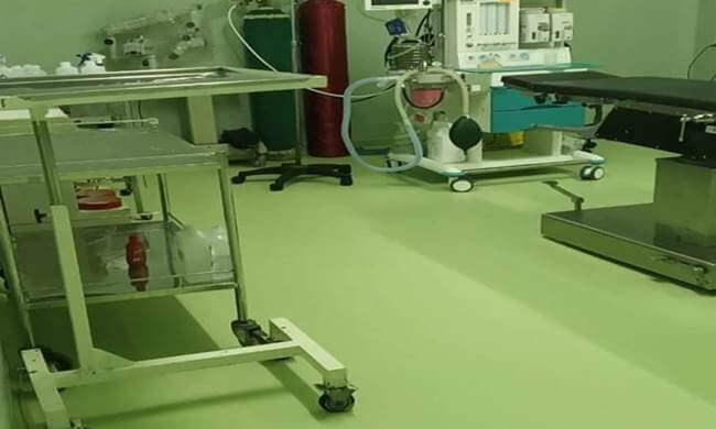 vinyl ruang operasi